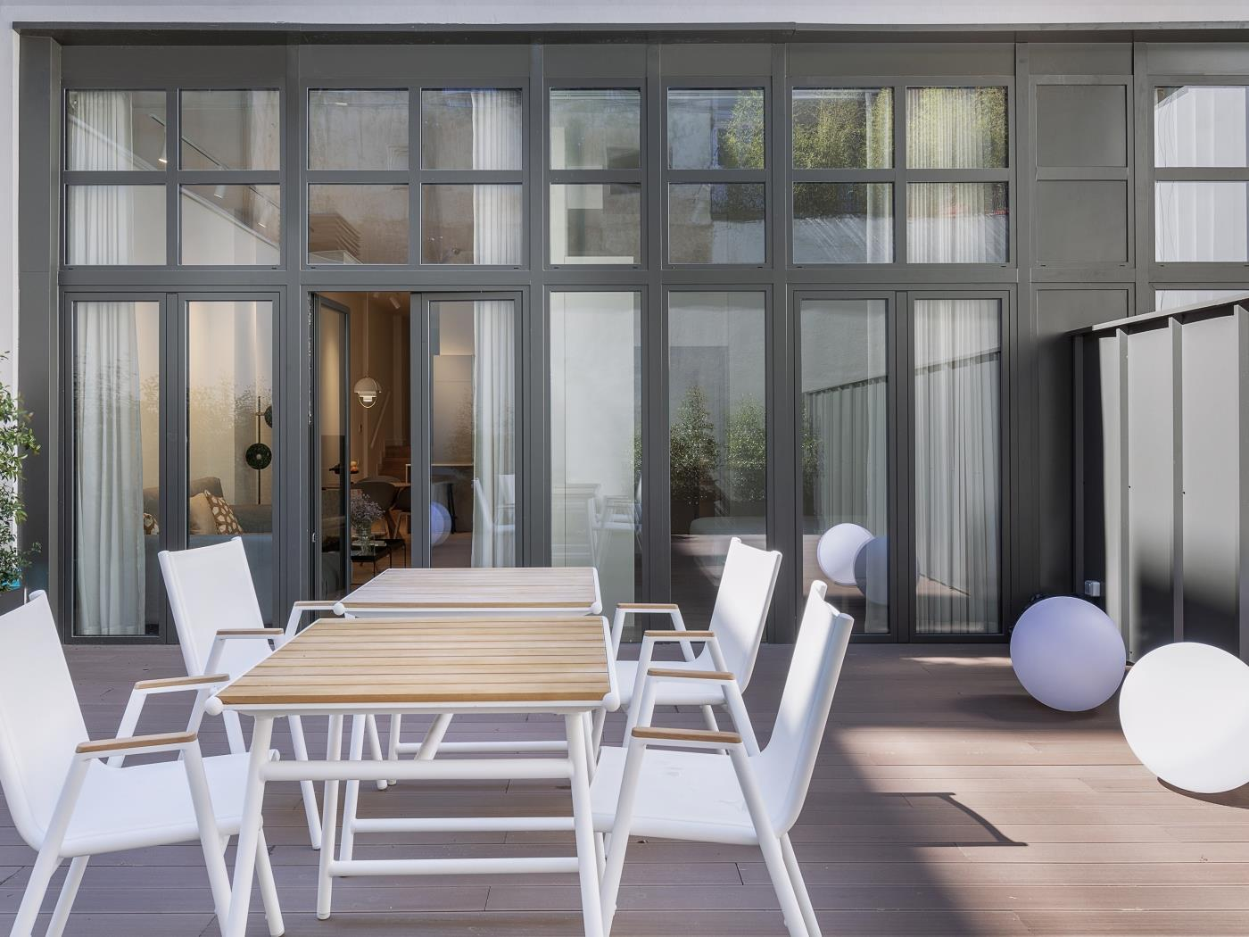 Apartment near Paseo de Gràcia for long-term rentals with ...